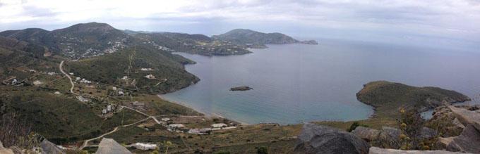 Άποψη Δελφινιού από όρος Κρα