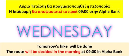 wed decision